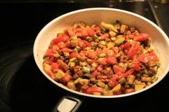 Zucchini, Paprika Curry